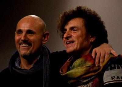 Live 2012 with Bernardo Lanzetti (PFM ACQUAFRAGILE) Casa della Musica